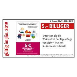 Vichy 5€ Kennenlern-Rabatt