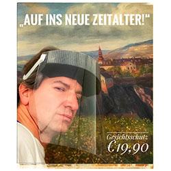 Neu! Gesichtsschutzschild aus Österreich!